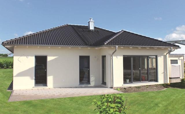 Musterhaus bungalow  Musterhaus-Bungalow in Maxhütte – Hilpl-Wagner Bau – Hilpl Wagner Bau